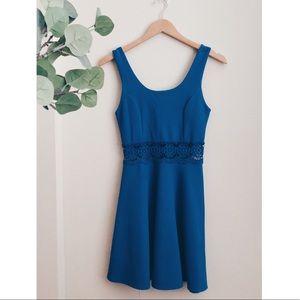 Love Republic Cobalt Blue Ribbed Dress Size Small